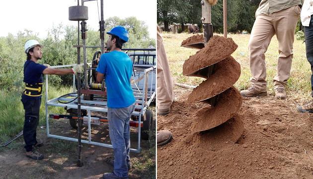 Ensayo SPT en estudio de suelos para fundaciones en Córdoba. Geoestudios