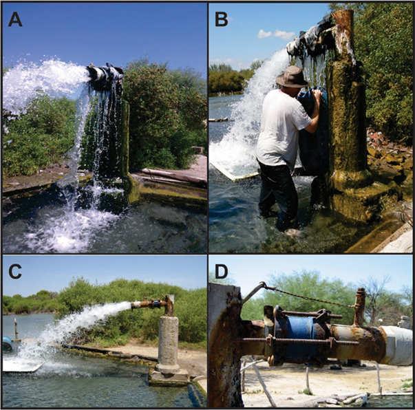 Aforo de perforación de agua hidrotermal de El Quicho. Geoestudios