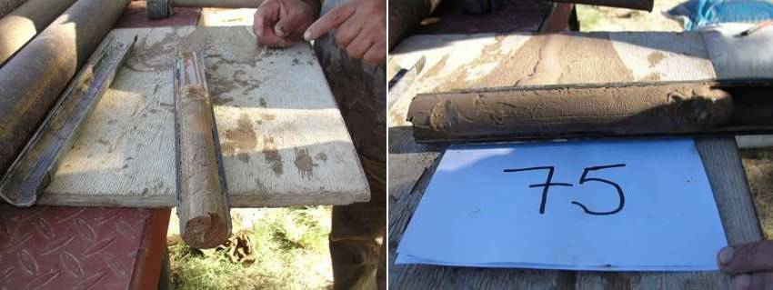 muestras de suelo, estudio de suelos, muestreo